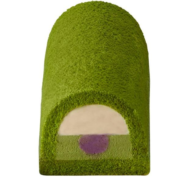 聖安娜x東茶園 抹茶紫薯卷