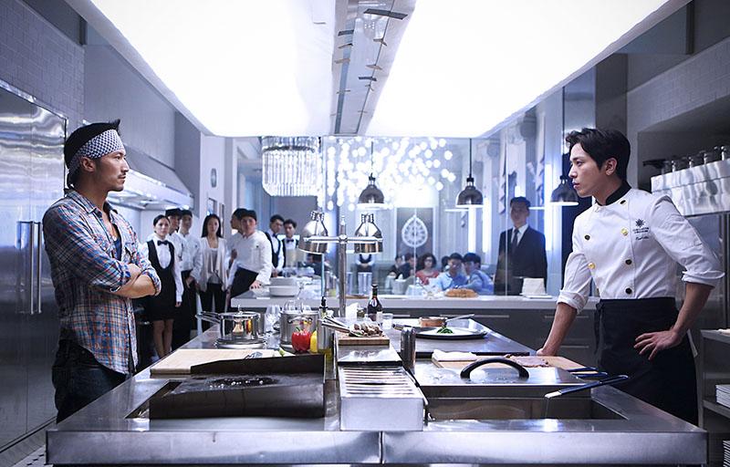 謝霆鋒 x CN BLUE鄭容和《決戰食神》