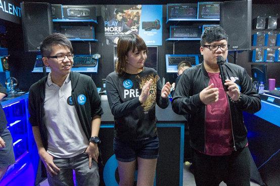 Logitech Gaming Pro Shop 之 Let's Go Pro Gaming