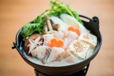 鯛魚鮮豆乳湯小鍋