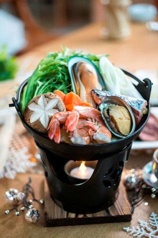 日式鮑魚海鮮鍋