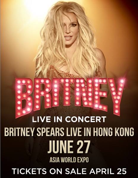 Britney Spears Live in Hong Kong