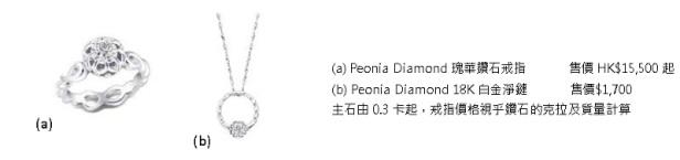 「Peonia Diamond彼愛麗鑽石-瑰華系列」