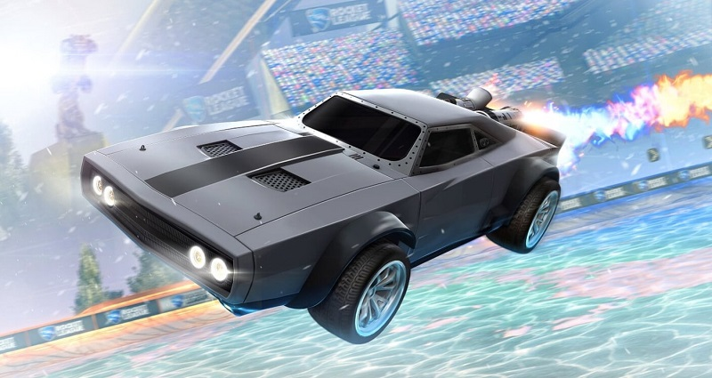 Rocket League-The Fate of the Furious Ice Charger