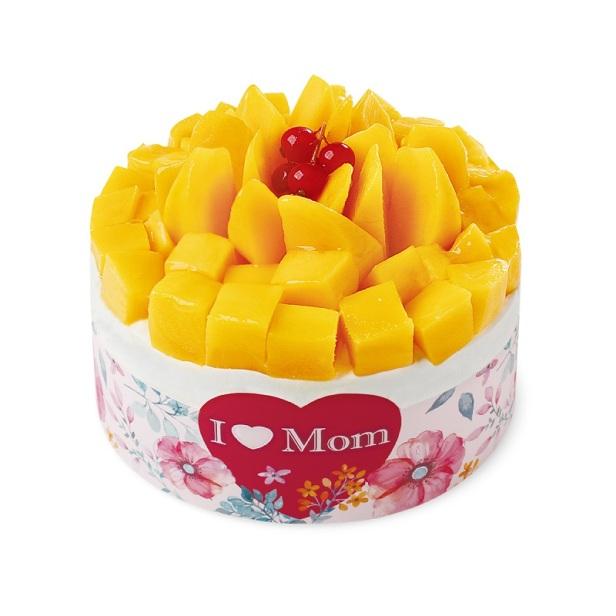 「甜蜜心思」鮮芒果夾心蛋糕