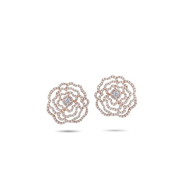 Peonia Diamond 「瑰華系列」耳環